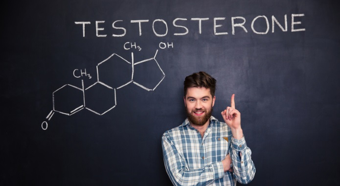 testosterone image man