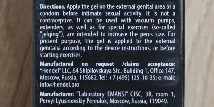 titan gel directions