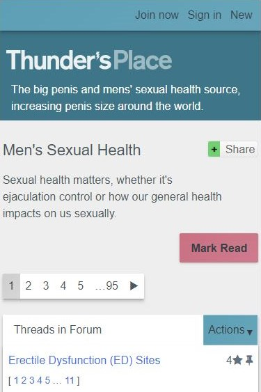 Thunders place sex health mobile