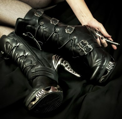 fetish boots mobile