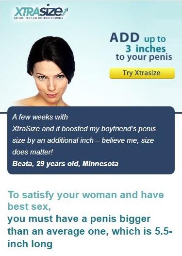 xtrasize screenshot mobile